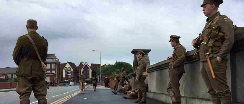 Octagon Theatre Bolton took part in UK-wide Somme Commemoration #wearehere