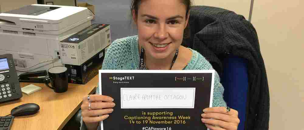 We are #CAPaware17: In conversation with Captioner Claire McIntyre