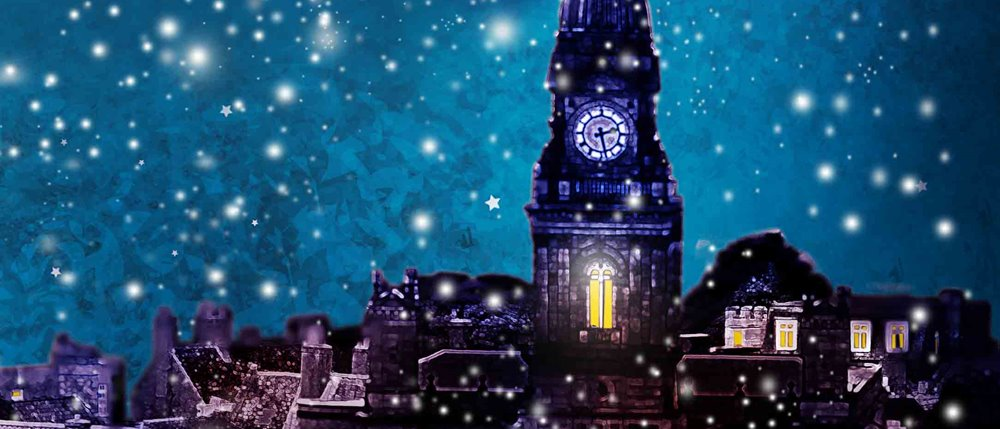 Christmas Carol.A Christmas Carol Cast At Octagon Theatre Bolton