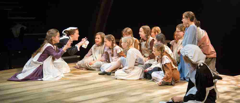 Bringing 'The Railway Children' to life with 100 young people