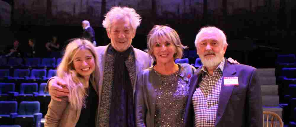 Sir Ian McKellen joins the Octagon's anniversary celebrations