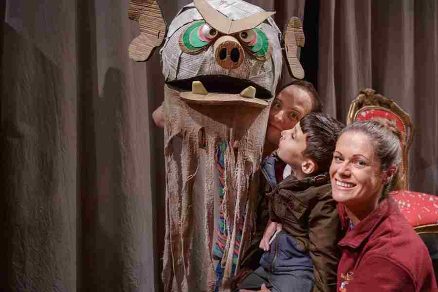 Meet and greet with the puppets of The BFG after a relaxed performance