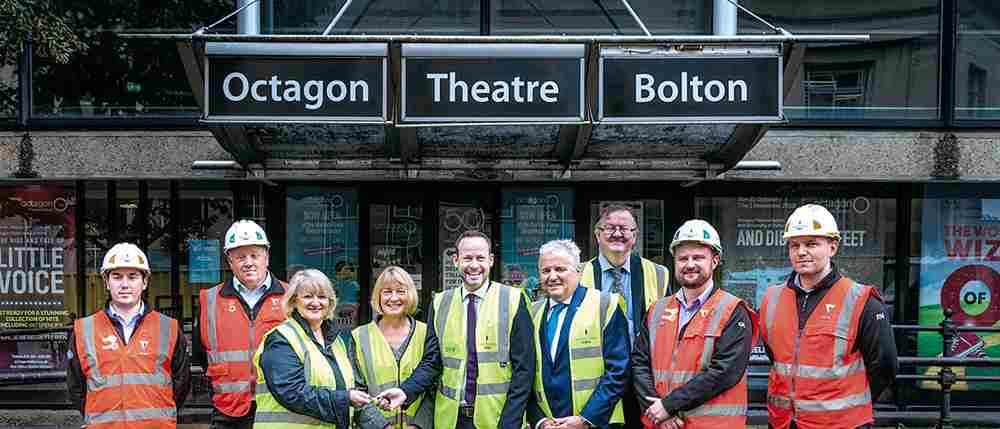 Construction begins on multimillion pound redevelopment of Octagon Theatre Bolton