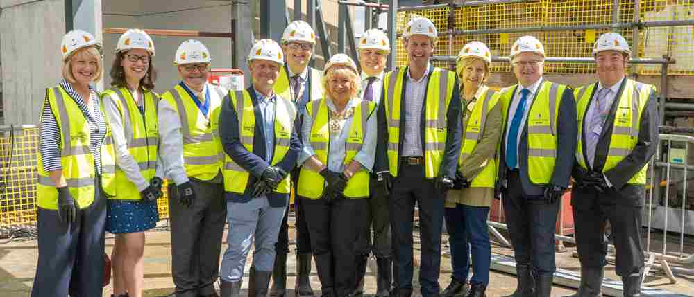 The major redevelopment of the Octagon Theatre marks a key milestone