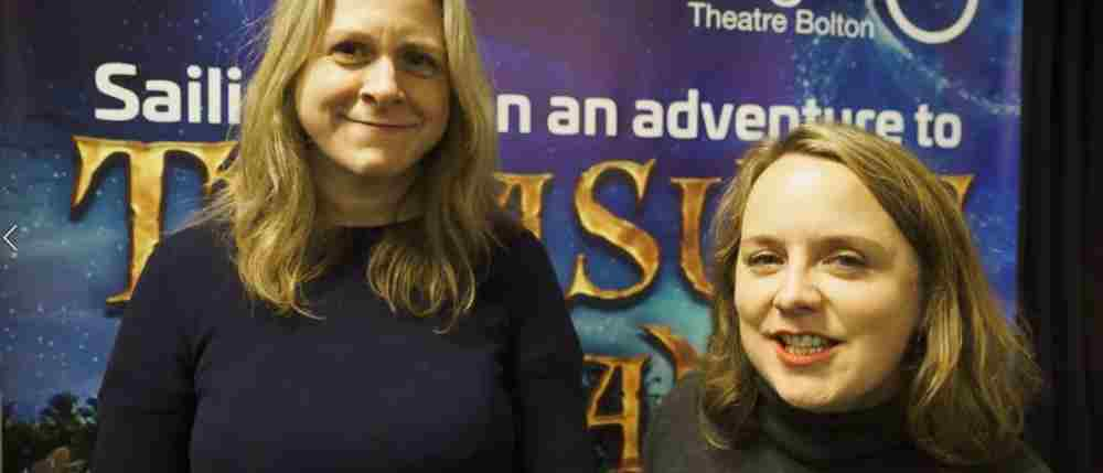 Interview with Treasure Island writers Kate Ferguson and Susannah Pearse